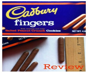 Review: Cadbury Salted Peanut Crunch Fingers