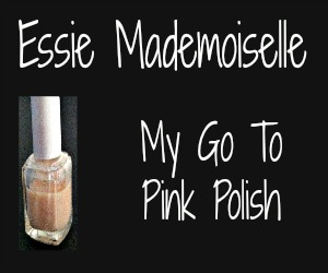 Pink It! Essie Mademoiselle Pink Polish Review
