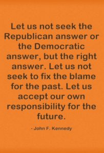 Election 2016 – Words From JFK