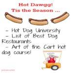 Best hot dog restaurants in America.