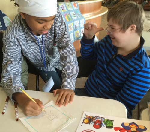 Wordless Wednesday 2: Community Service Project