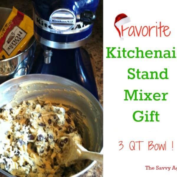 Favorite KitchenAid Mixer Gift: Small Mixer Bowl ! KB3SS Review