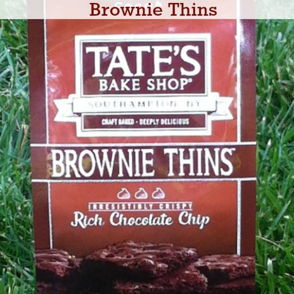 Crispy Treat Alert! Tate's Bake Shop Brownie Thins Review
