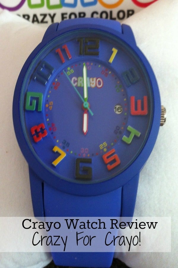 Purple Crayo watch